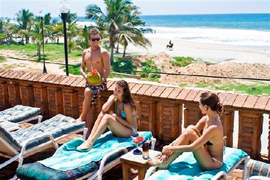 Hotel Santa Fe : Swimming pool and beach