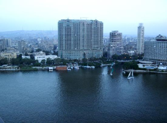 Sofitel Cairo El Gezirah: View from our luxury room