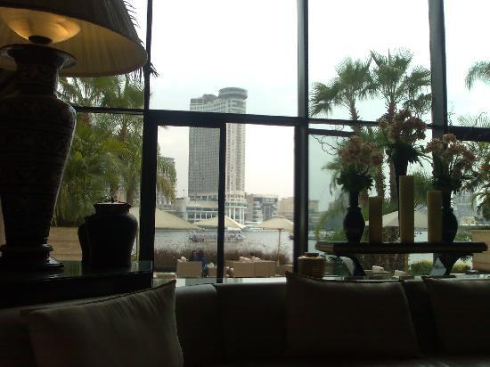Sofitel Cairo El Gezirah: View from the Lobby
