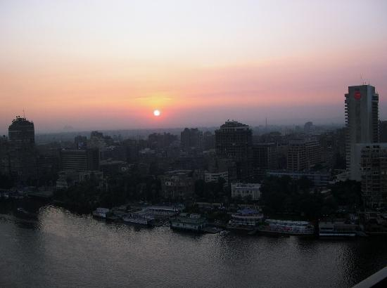Sofitel Cairo El Gezirah: Sunset from the room