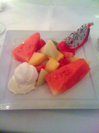 Take Thai : fruit plate