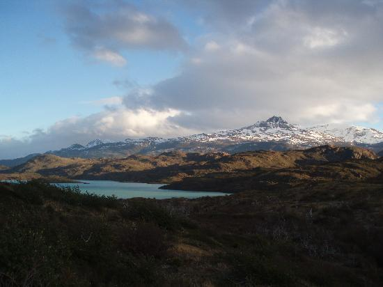 explora Patagonia - All Inclusive : view of lake on walk back to hotel from glacier