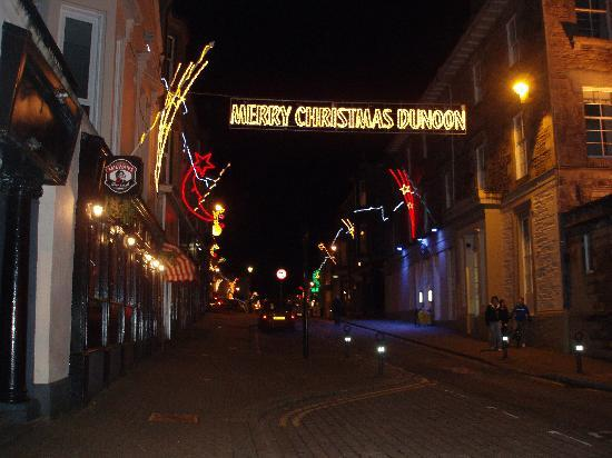 The Mayfair: Xmas lights Dunoon