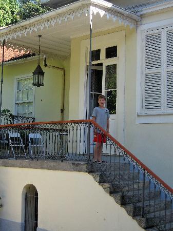 Villa Laurinda: entrance to hall