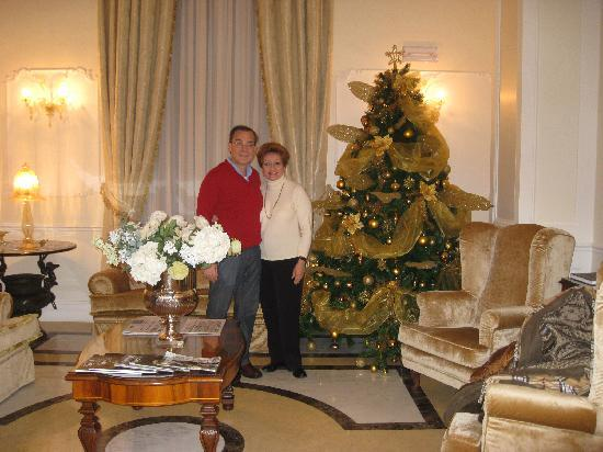 Hotel Villa Pinciana: Hotel´s parlor