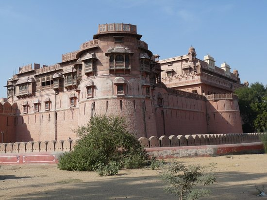 Bikaner, Indien: From outside the Junagarh Fort