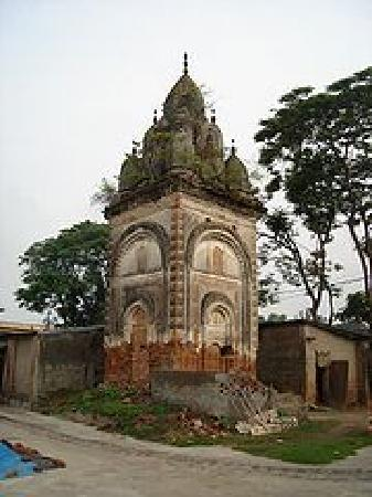 Rajshahi City, Bangladesh: Old hindu temple at city