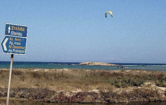 Naxos-Surf Club: Kiting