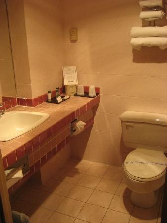 Banff Inn: Bathroom