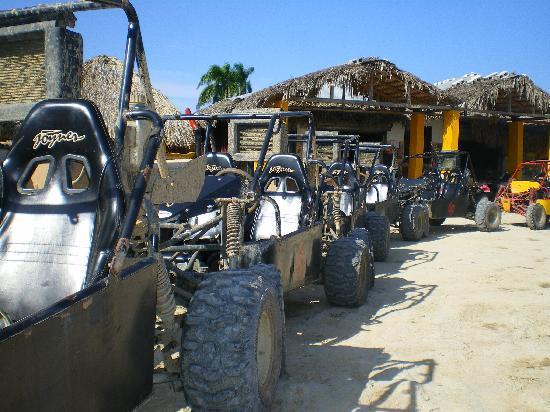 Grand Palladium Punta Cana Resort & Spa: buggies