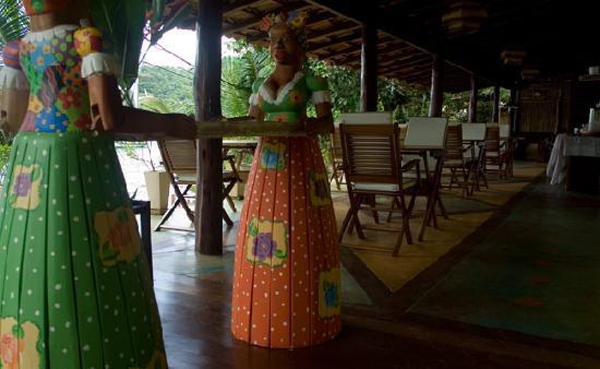 Sagu Mini Resort: The breakfast area