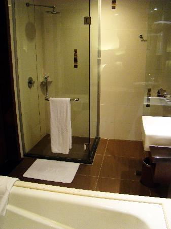 Grand Borneo Hotel: The bath room.