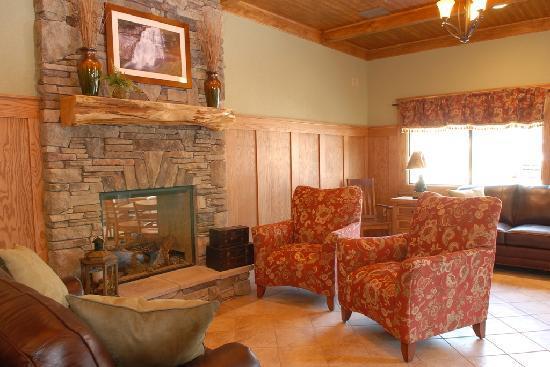 Brookstone Lodge Lobby