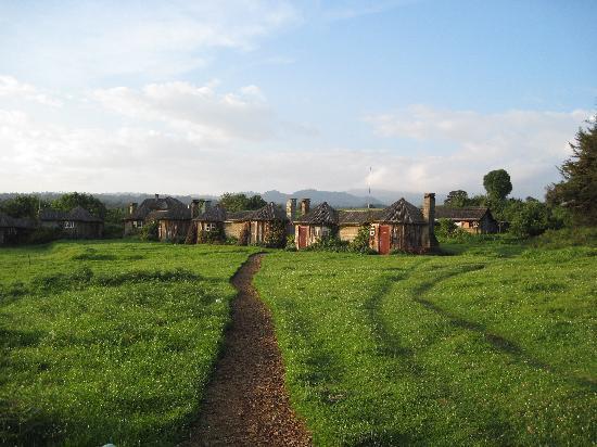 Mount Kenya National Park, Kenya: 2 persoonshuisjes