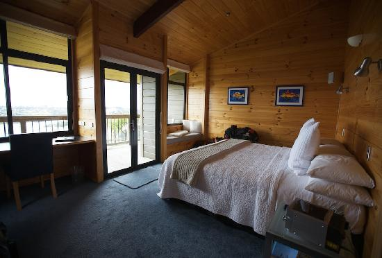 ‪‪Te Whau Lodge‬: Our Room‬