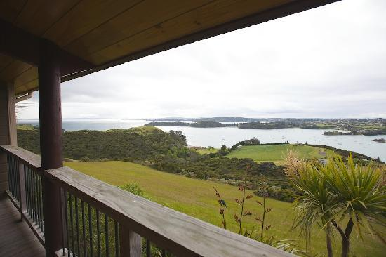 Te Whau Lodge : View from Private Balcony