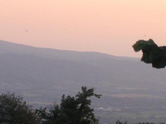 Baudelys: coucher du soleil