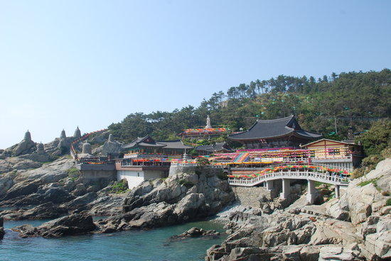 Busan, South Korea: Haedong Yonggunsa Temple