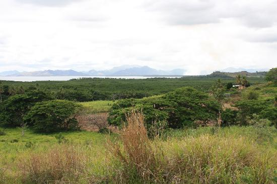Palmlea Farms Lodge & Bures: A view to the ocean and islands