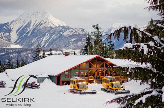 Selkirk Snowcat Skiing Foto