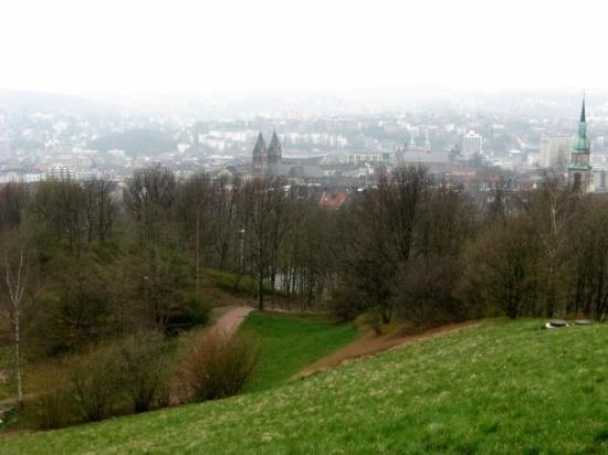 view to wuppertal from the top of the uni :)