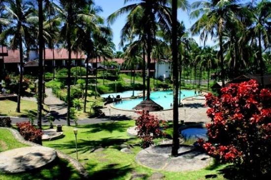 Sukabumi, Indonésia: Amandaratu Resort (tempat kita menginap kemarin)