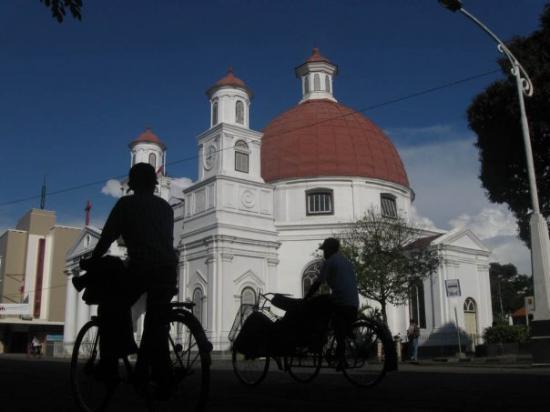 gereja blenduk, kota tua, semarang