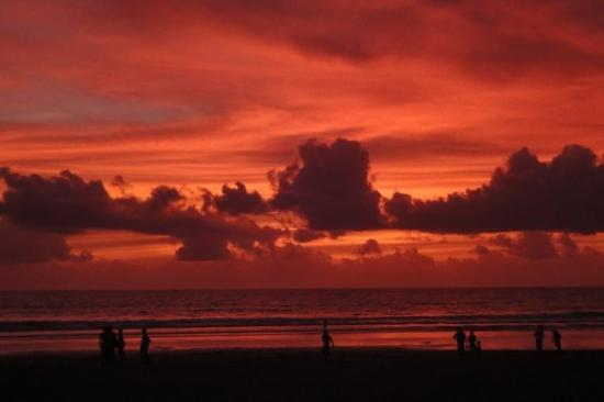 Legian, Indonesia: One sunset in particular was spectacular.
