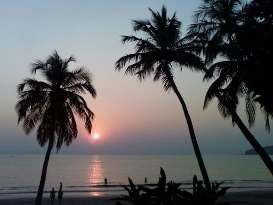 Baga, India: Sunset