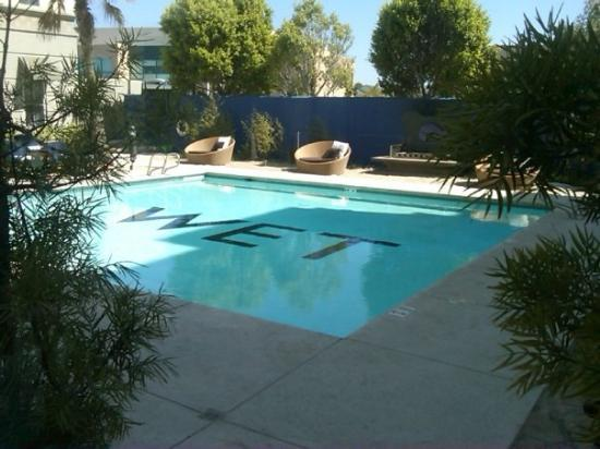 Aloft Silicon Valley: hotel pool i wish i was in...
