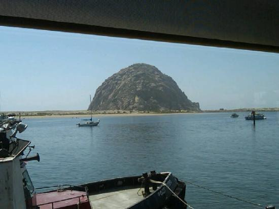 The Outrigger Restaurant: Birthday in Morro Bay 5/16/09 view from the Outrigger