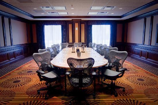 Hilton Garden Inn Greenville: A meeting room designed to inspire creativity, productivity and connectivity