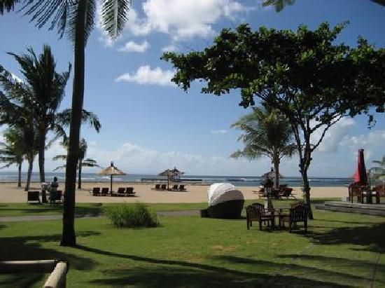Club Med Bali: 完全ではないがほぼプライベートビーチ