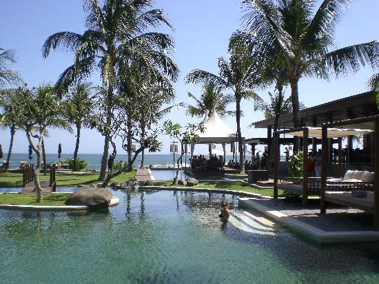 The Samaya Bali Seminyak: another pool and beach view