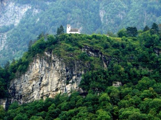 Flums, Zwitserland: Switzerland, St George Church, Hiedi Land