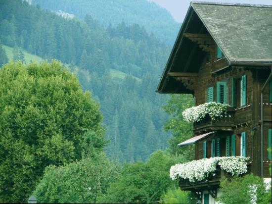 Switzerland, chalet in Gstaad
