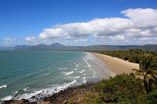 Four Mile Beach: last day in Port Douglas