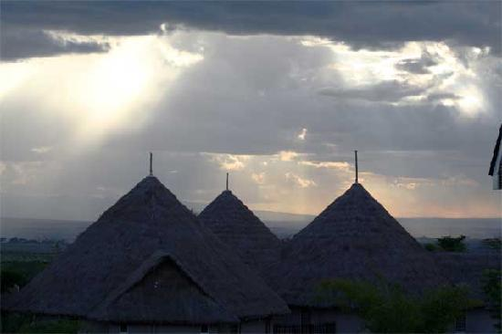 Lukenya Getaway: Looking Across the Lukenya Cottages into the Athi Plain