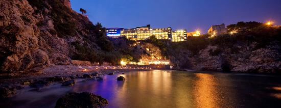 Hotel Bellevue Dubrovnik: View from the hotel's private beach