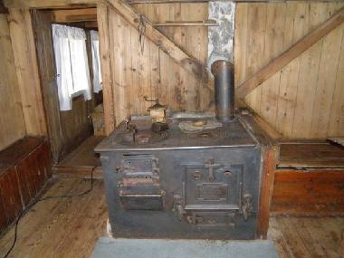 An Old Stove, Item from the Museum in Sandvik, Suduroy, Faroe Islands.