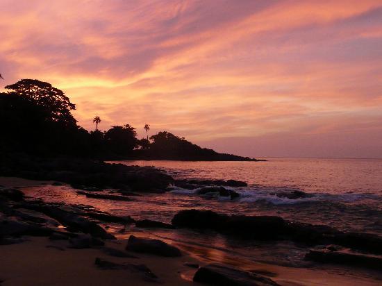Dublin Island, Sierra Leone: Sunset
