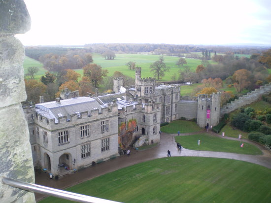 Golden Tours: A View from Warwick's Tower