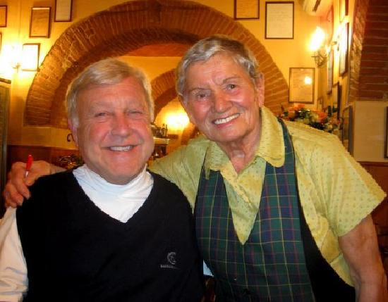 Ristorante Il Cantuccio : Augusta - youngest 80 year old you ever met