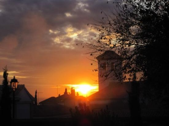 Albayzin: typisch andalusischer Sonnenuntergang...
