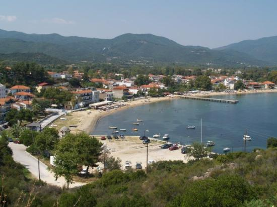 the small village Olympiada is located on the Strimonikos Gulf, on the northeastern side of Chal