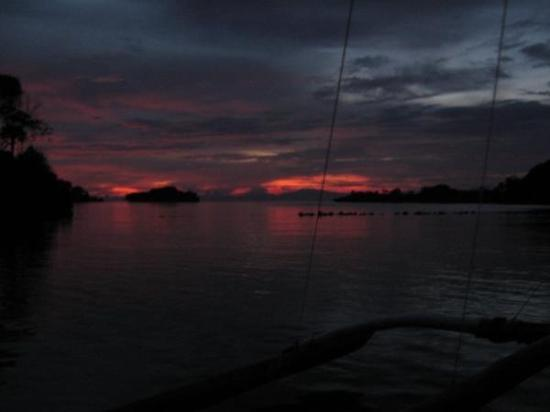 Negros Island, Filipinas: guimaras at night