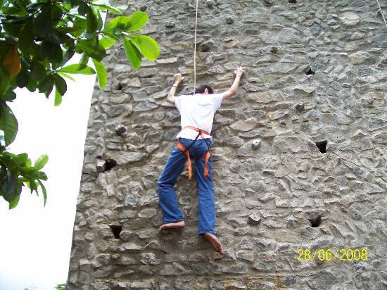 Kamath Residency Nature Resort: Rock climbing