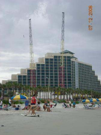 Daytona Beach Boardwalk And Pier 400ft Sling Shot In