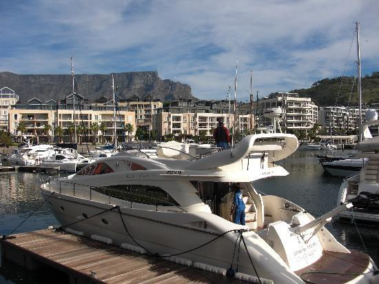 Cape Grace : Hoteleigene Yacht