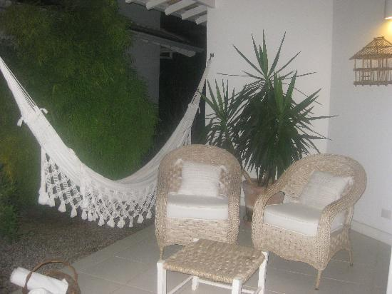 Vivenda Paraty: The veranda